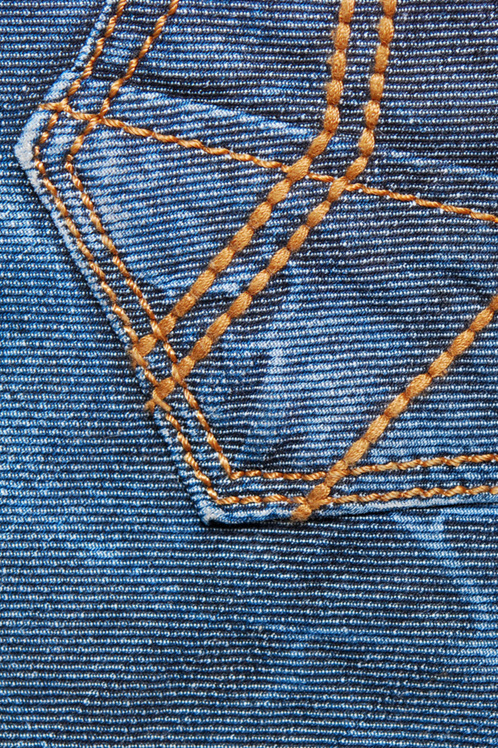 Sewing with denim - topstitching