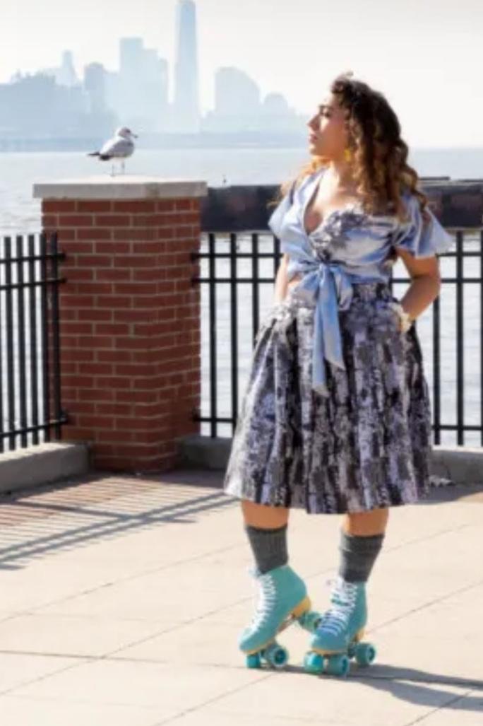 The Romulea Skirt from Mood Society