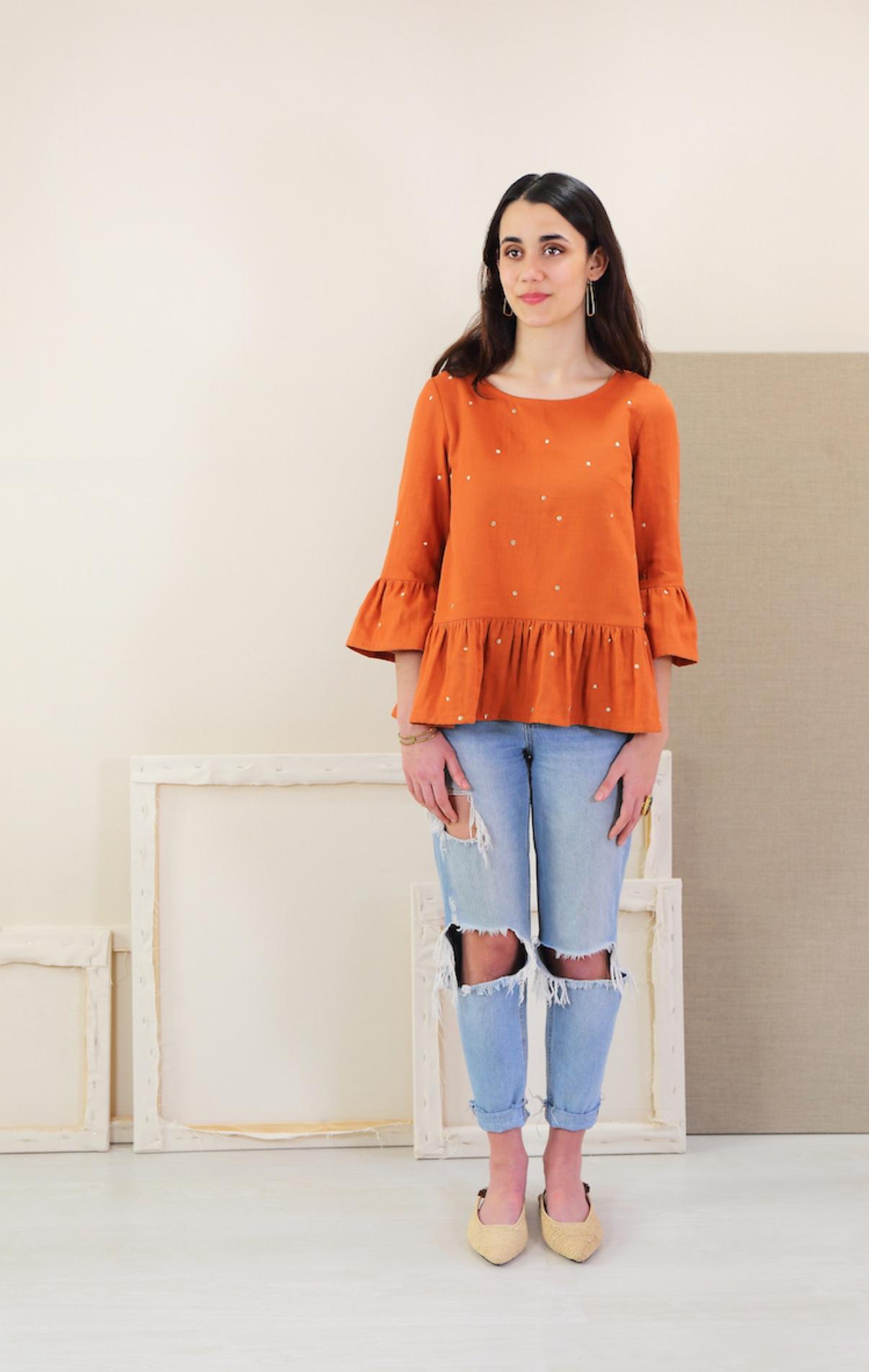 Gelato top/dress sewing pattern from Liesl & Co