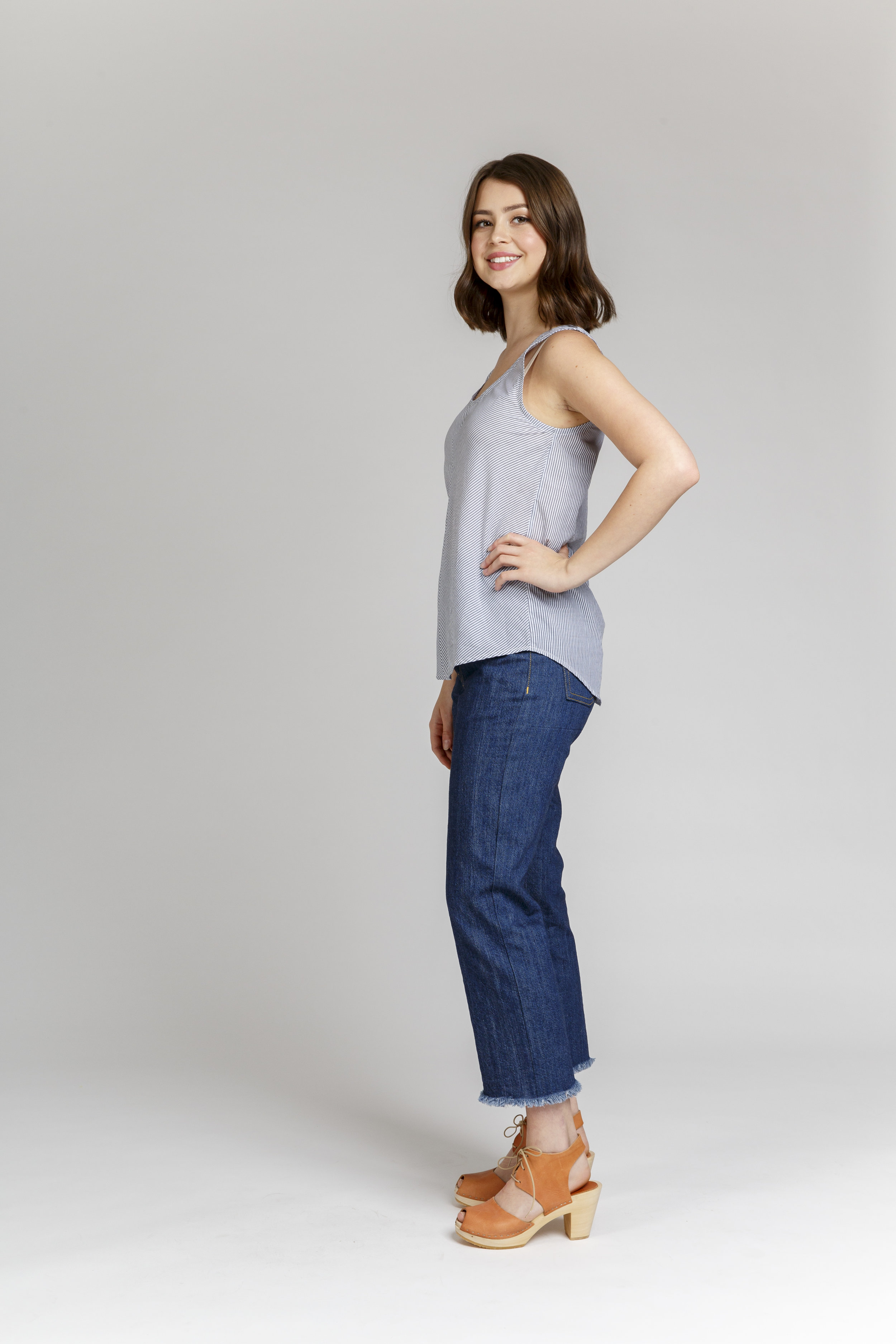 The Eucalypt top sewing pattern from Megan Neilsen