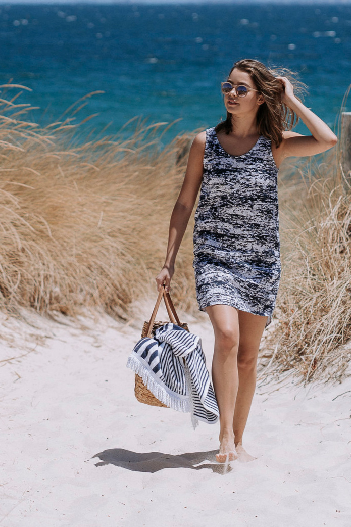 The Eucalypt dress & top sewing pattern from Megan Neilsen