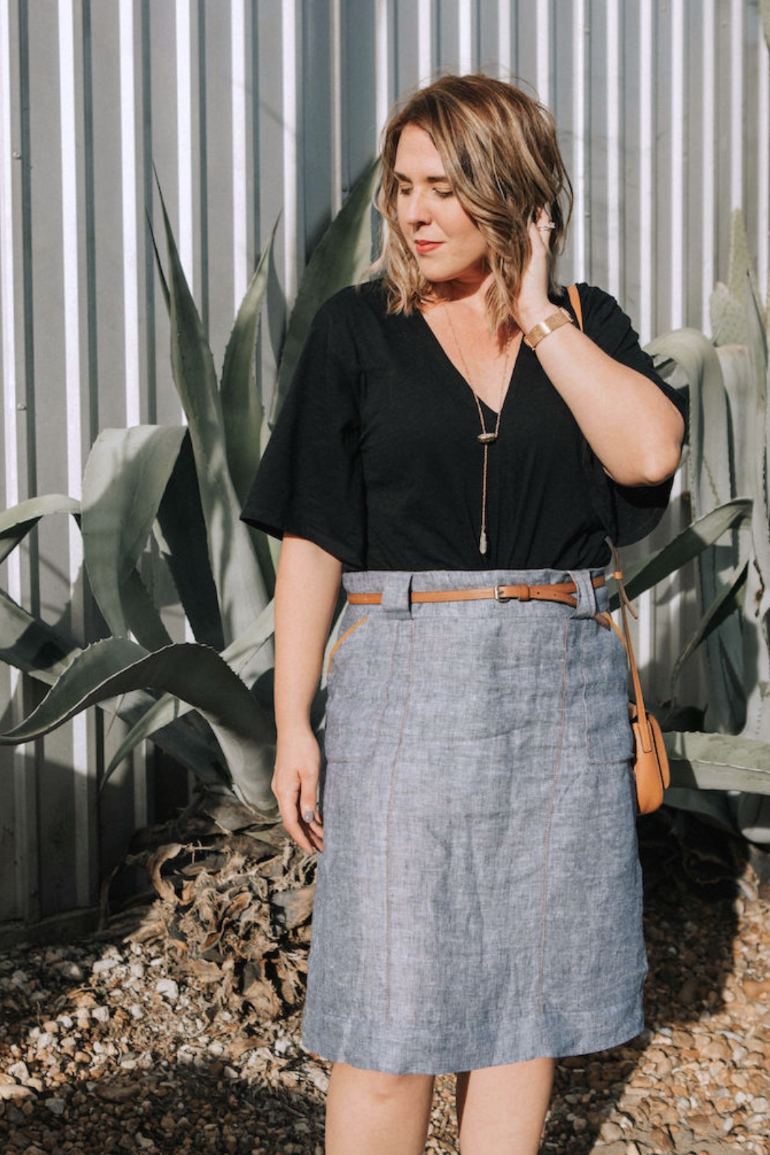 Stella Skirt sewing pattern from Sew to Grow