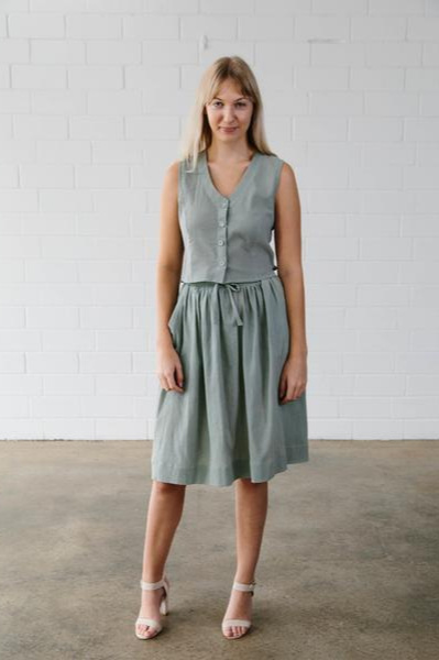 Lawley Skirt from Elbe Textiles