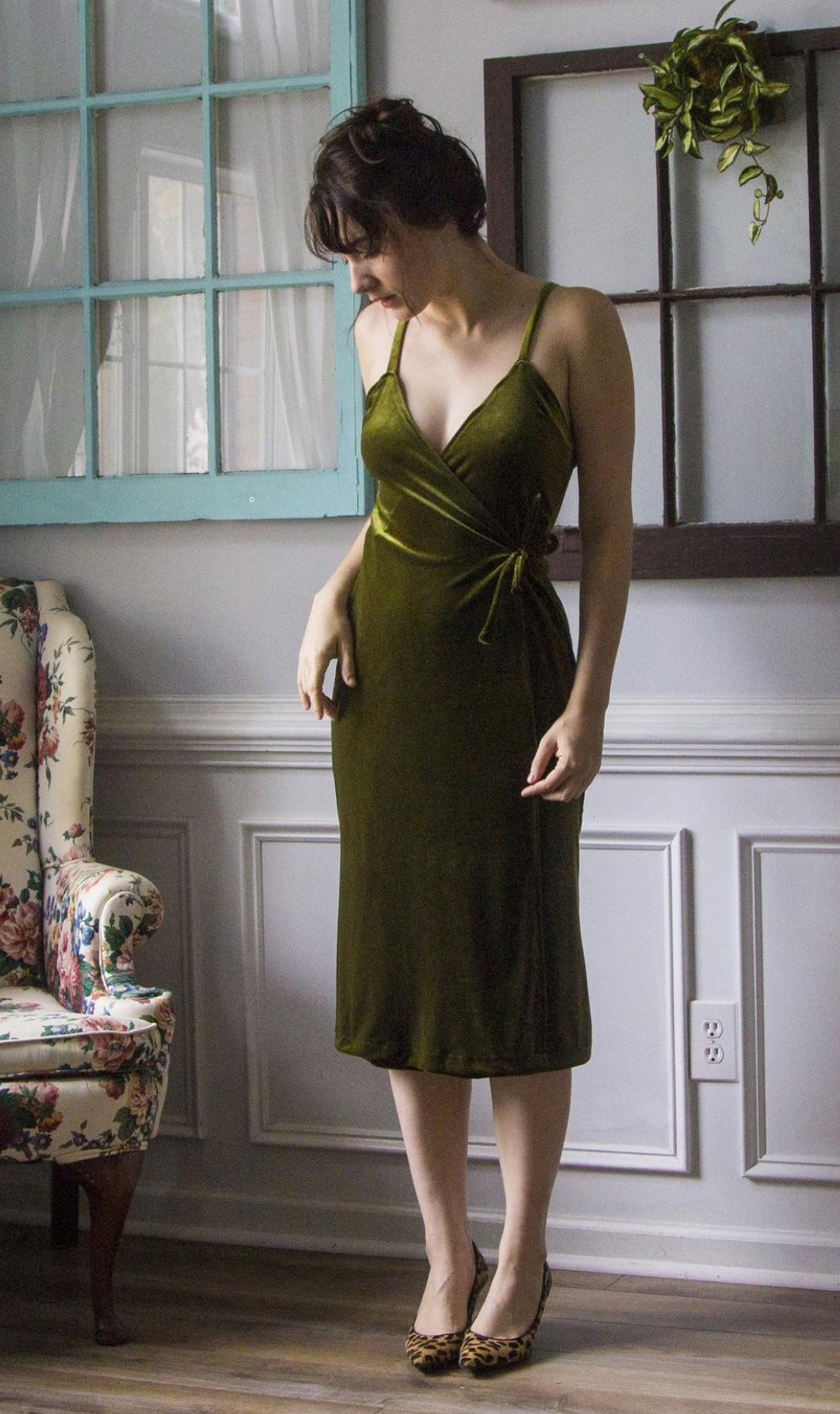 Louise Wrap Dress from Untitled Thoughts