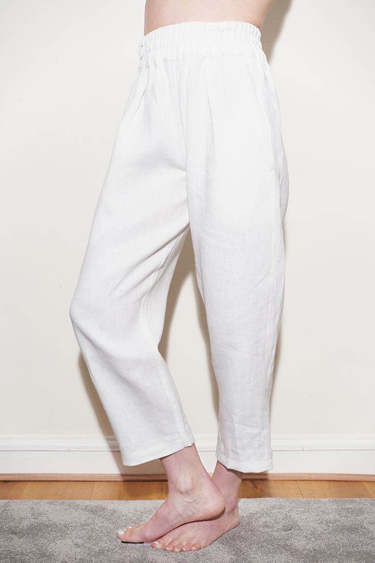 Lois Paperbag Trousers from Fabrics Store