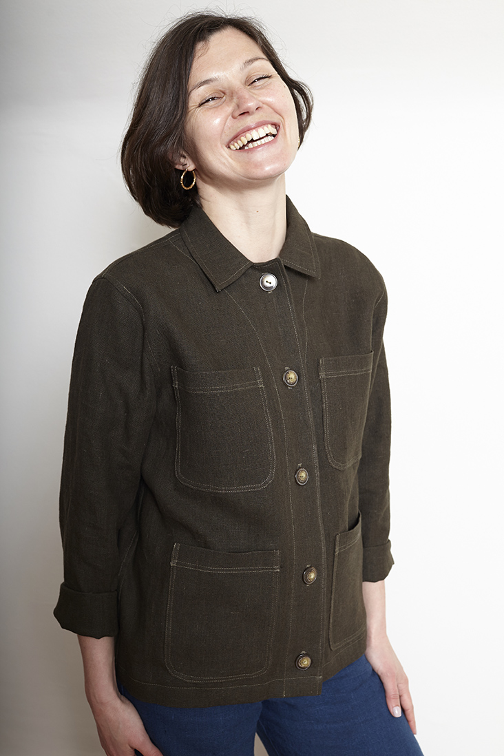 Paola Workwear jacket from Fabrics Store
