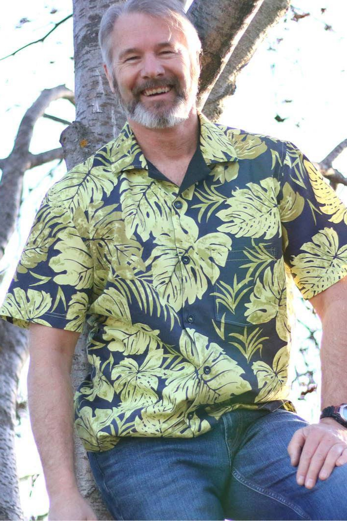 Tropical Shirt sewing pattern from Wardrobe By Me