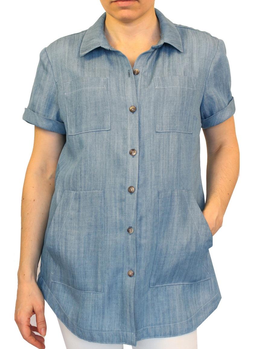 Harvey Shirt from SBCC Patterns