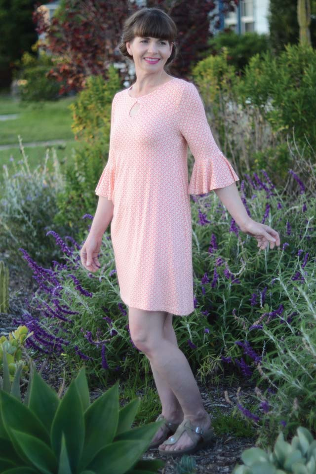 Taylor Dress sewing pattern from Designer Stitch