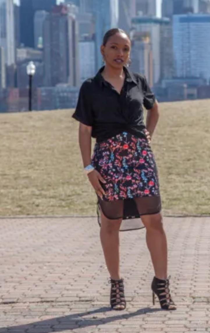 The Zamia Skirt from Mood Society