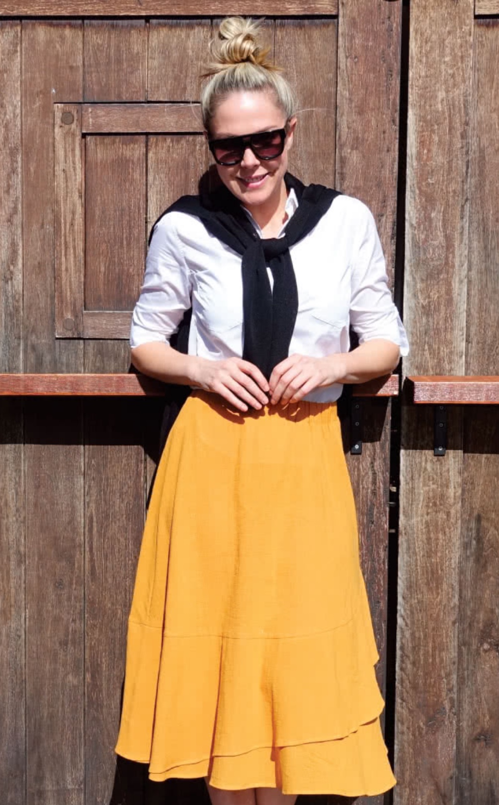 Sorrento skirt sewing pattern from Style Arc