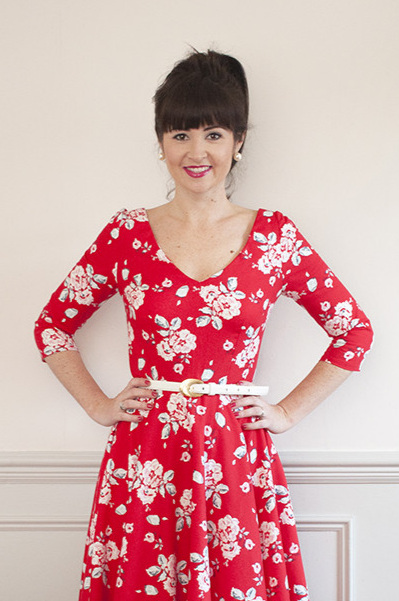 Betty Dress (with add-on necklines) from Sew Over It