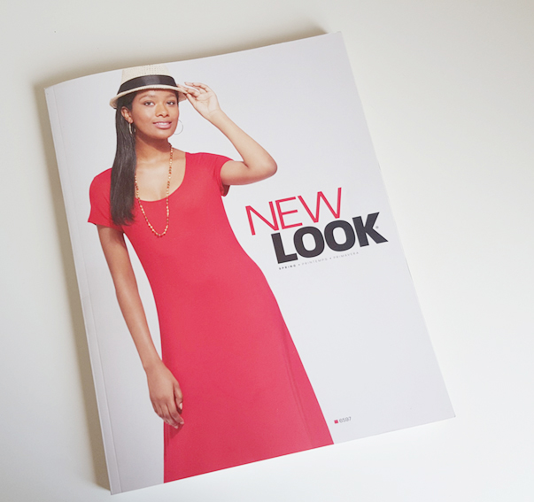 New Look sewing patterns spring catalogue 2019
