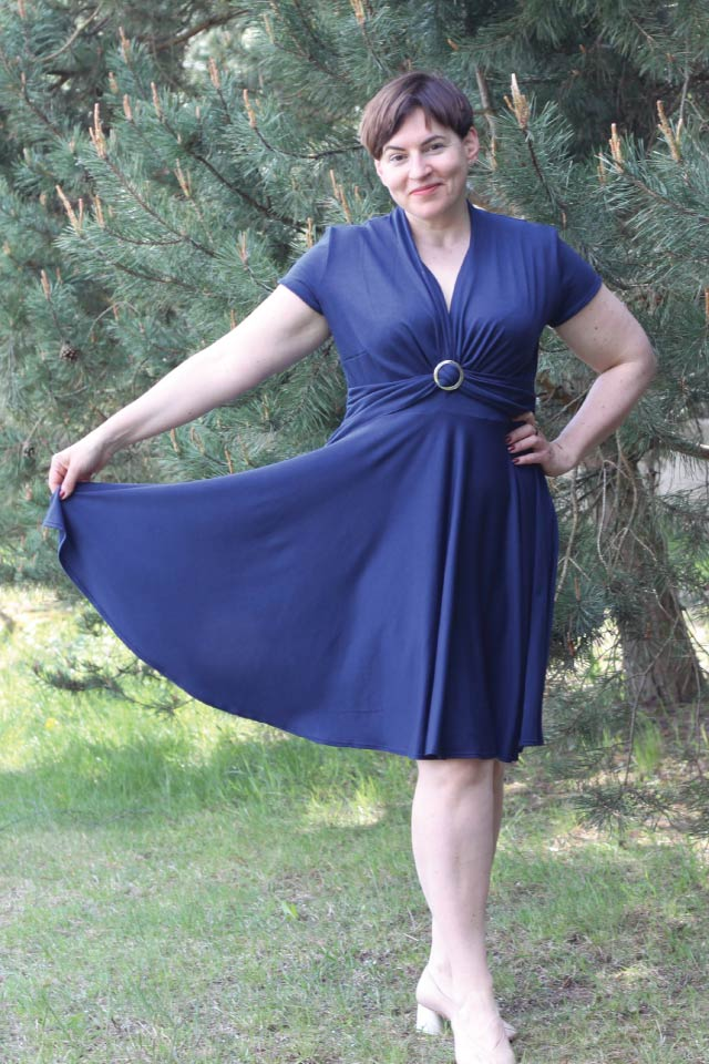 Donelle Dress sewing pattern from Designer Stitch