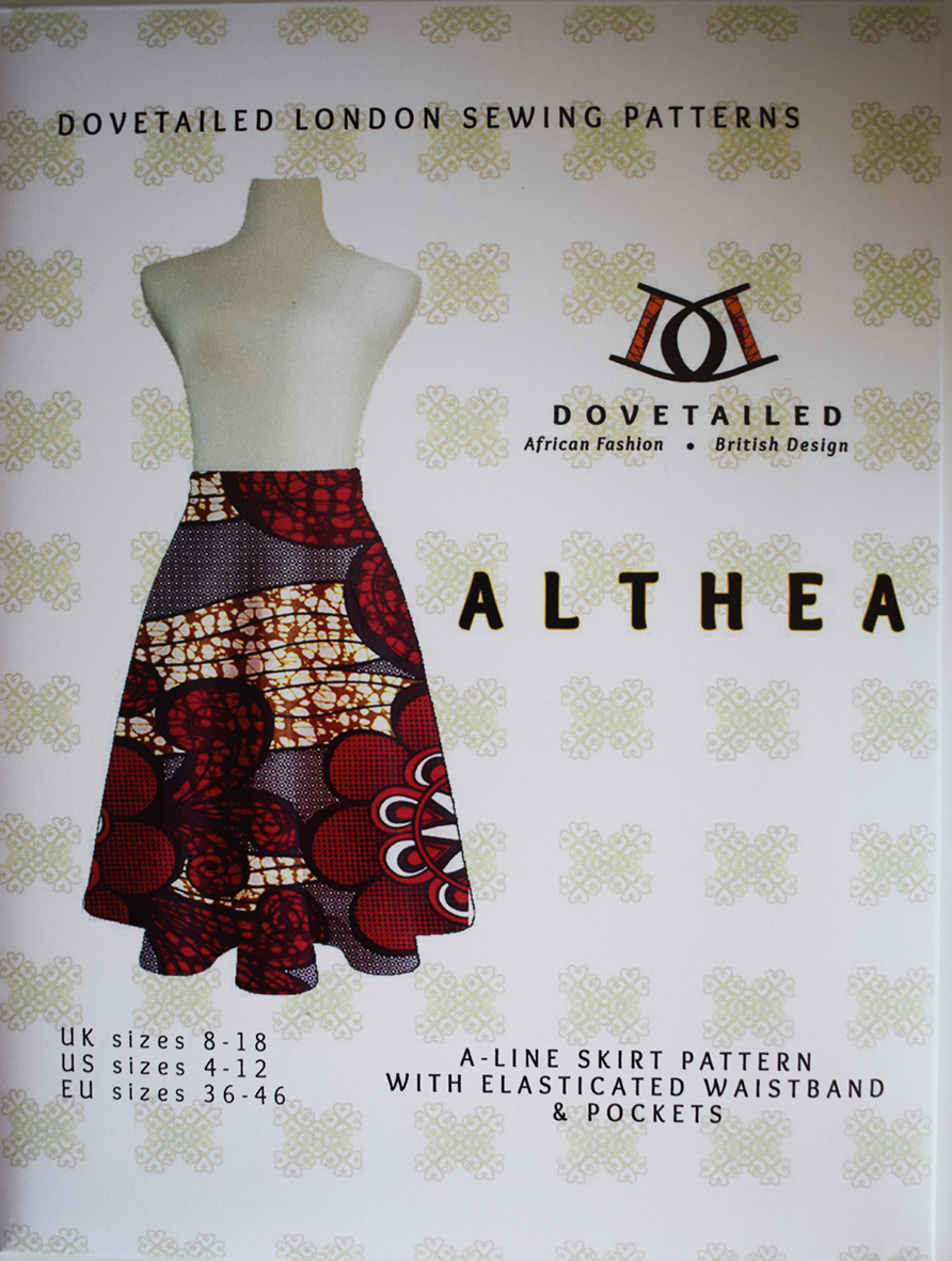 Althea Skirt sewing pattern from Dovetailed London
