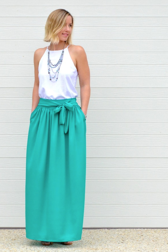 Arabella Maxi Skirt from Rebecca Page