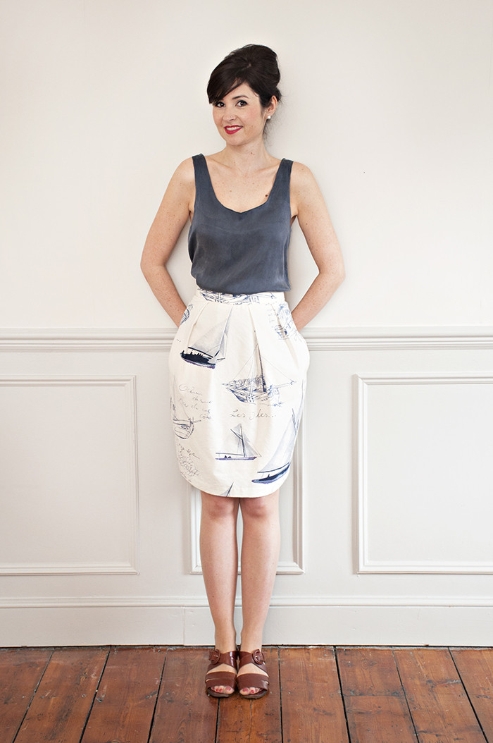 Tulip Skirt from Sew Over It