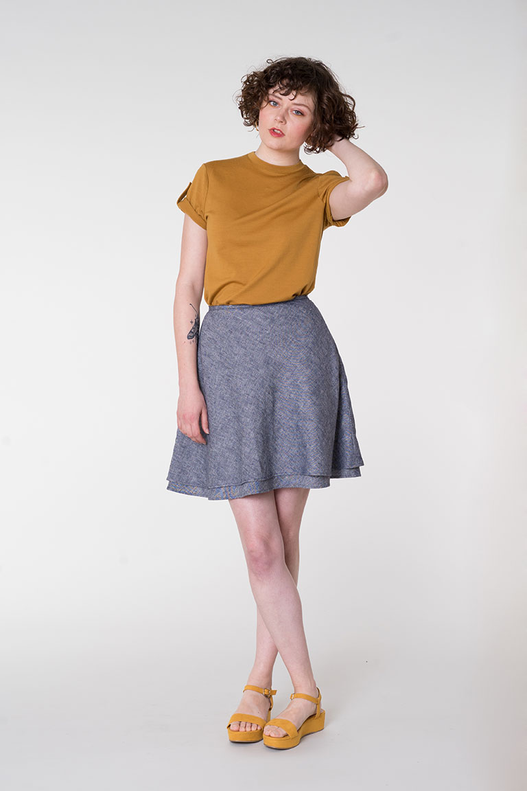 Everly Skirt from Seamwork