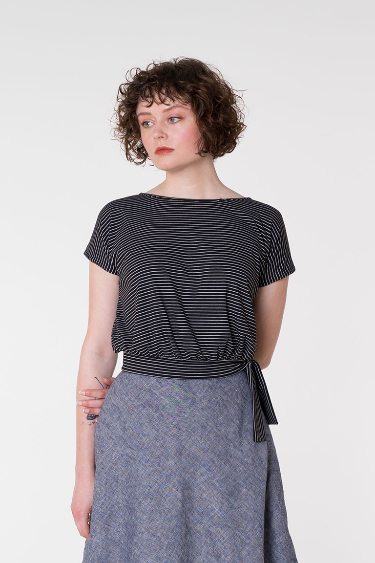 The Rory Top sewing pattern from Seamwork