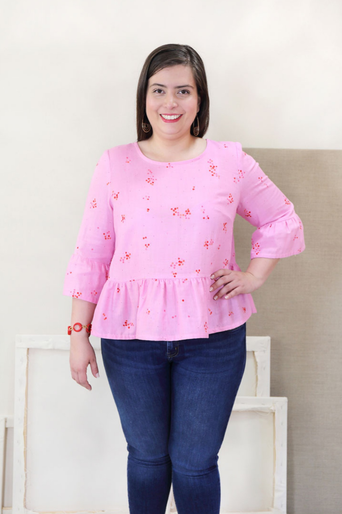 Gelato blouse + Dress sewing pattern (plus size) by Liesl +Co.jpeg