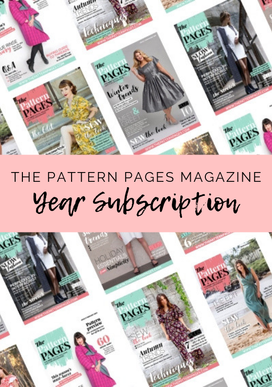 The Pattern Pages Year Subscription