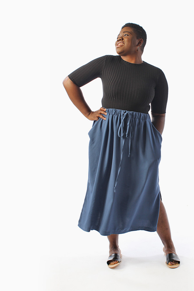Donovan skirt sewing patterns from helens closet