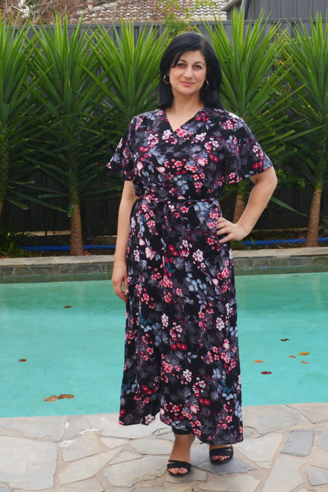 Miss Laura Wrap Dress from 1 Puddle Lane