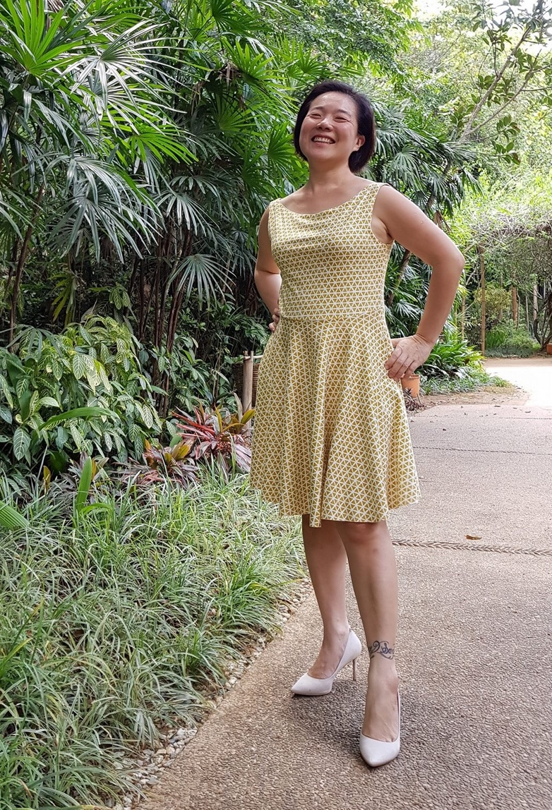 Rosie Dress sewing pattern from RAD Patterns