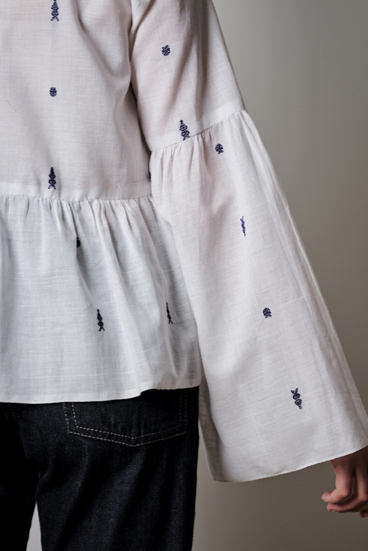 The Tiered Blouse from The Maker's Atelier
