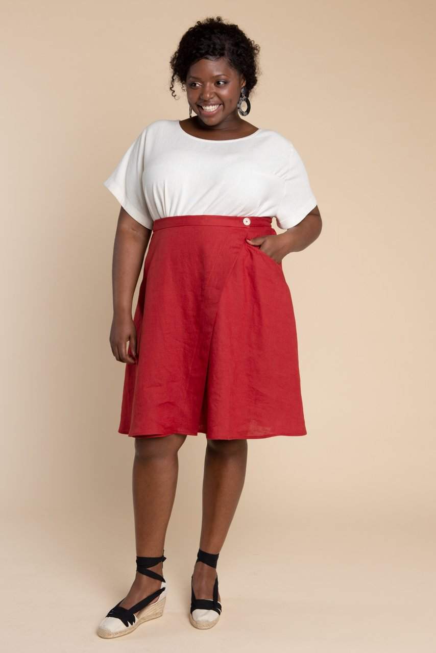 Fiore Skirt sewing pattern from Closet Case Patterns