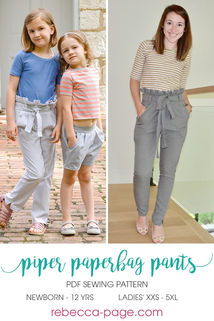 Piper Paperbag Pants from Rebecca Page