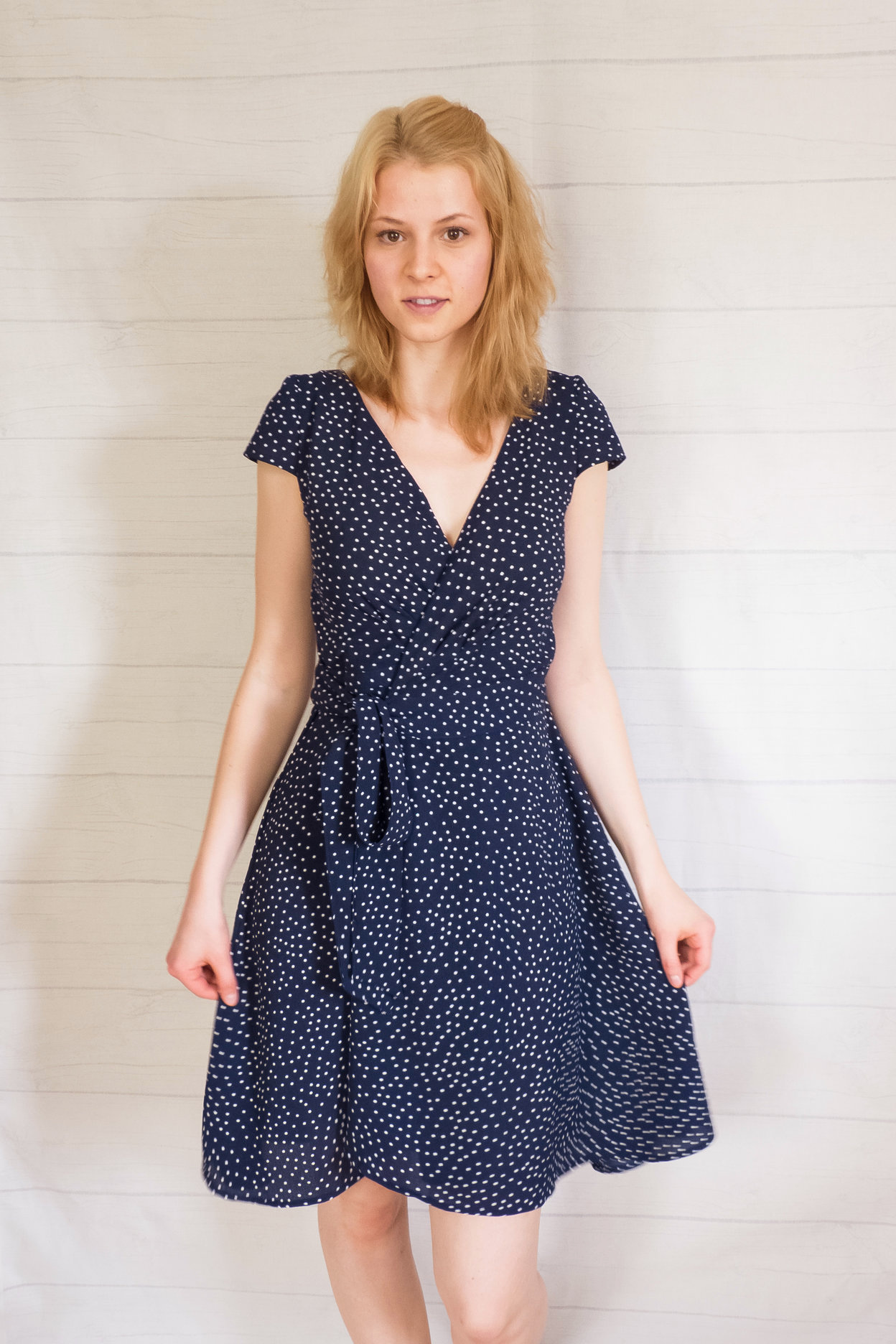 Dahlia Dress/Skirt from Glasshouse Patterns