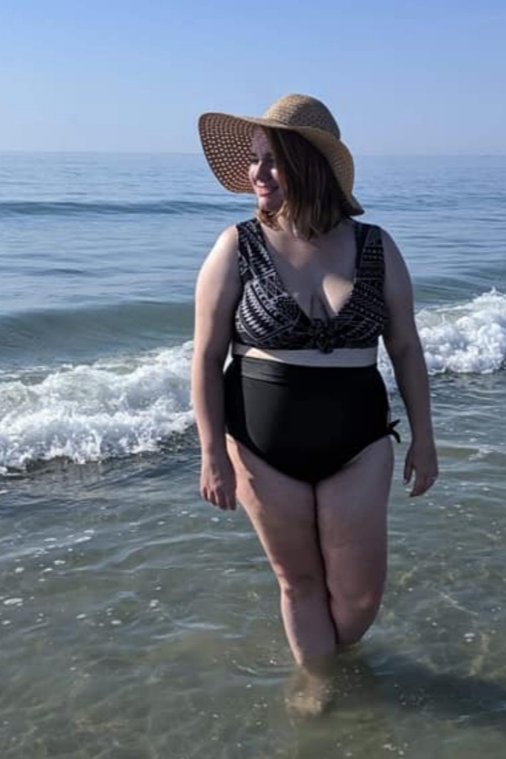 Fit To Be Tied Swimsuit sewing pattern from Rad Pattterns