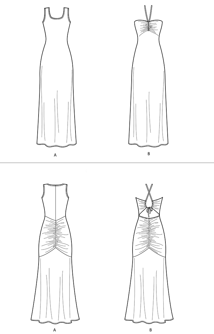 Mimi G #8915 knit dress for Simplicity Patterns