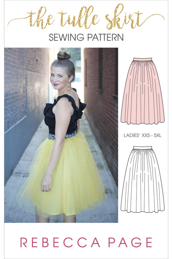 Tulle Skirt from Rebecca Page