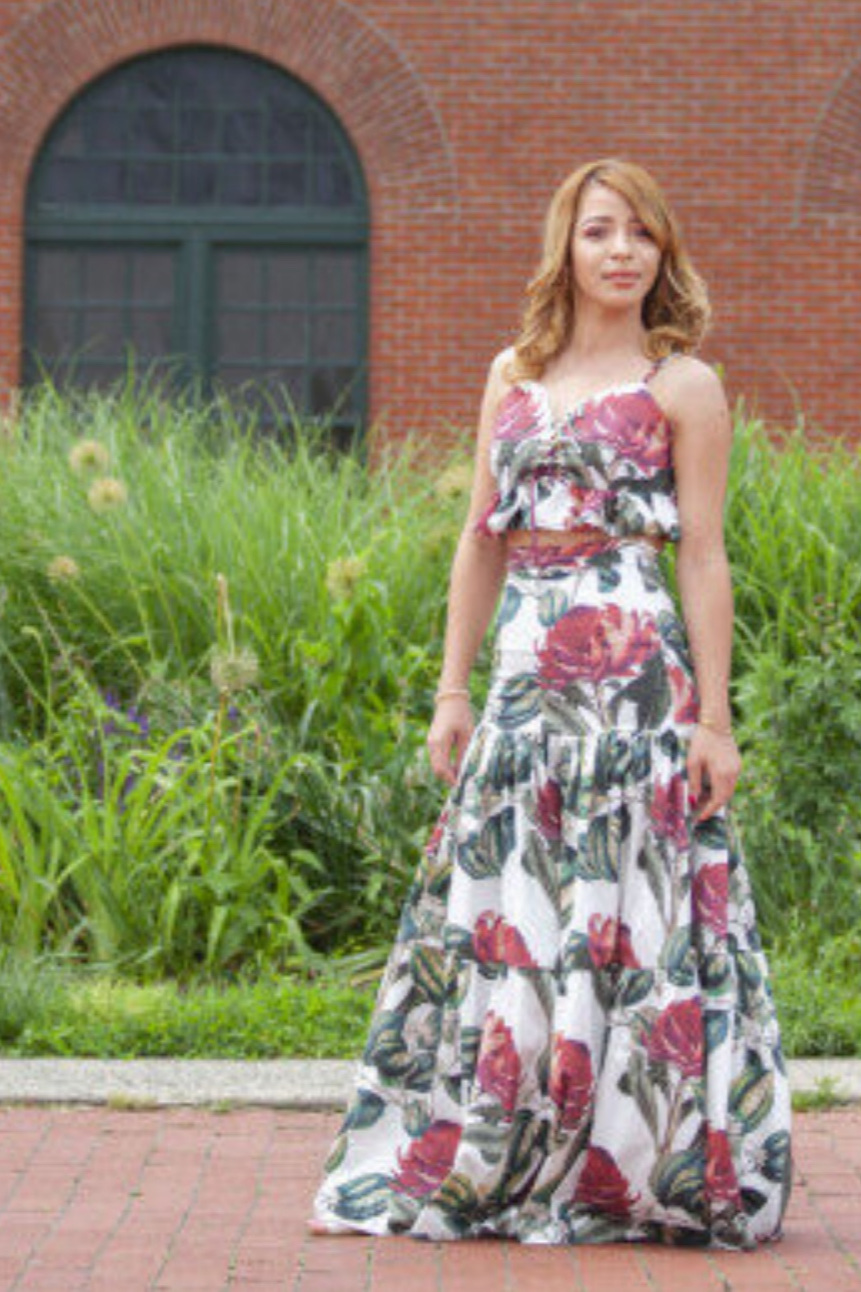 The Daylily Skirt from Mood Society