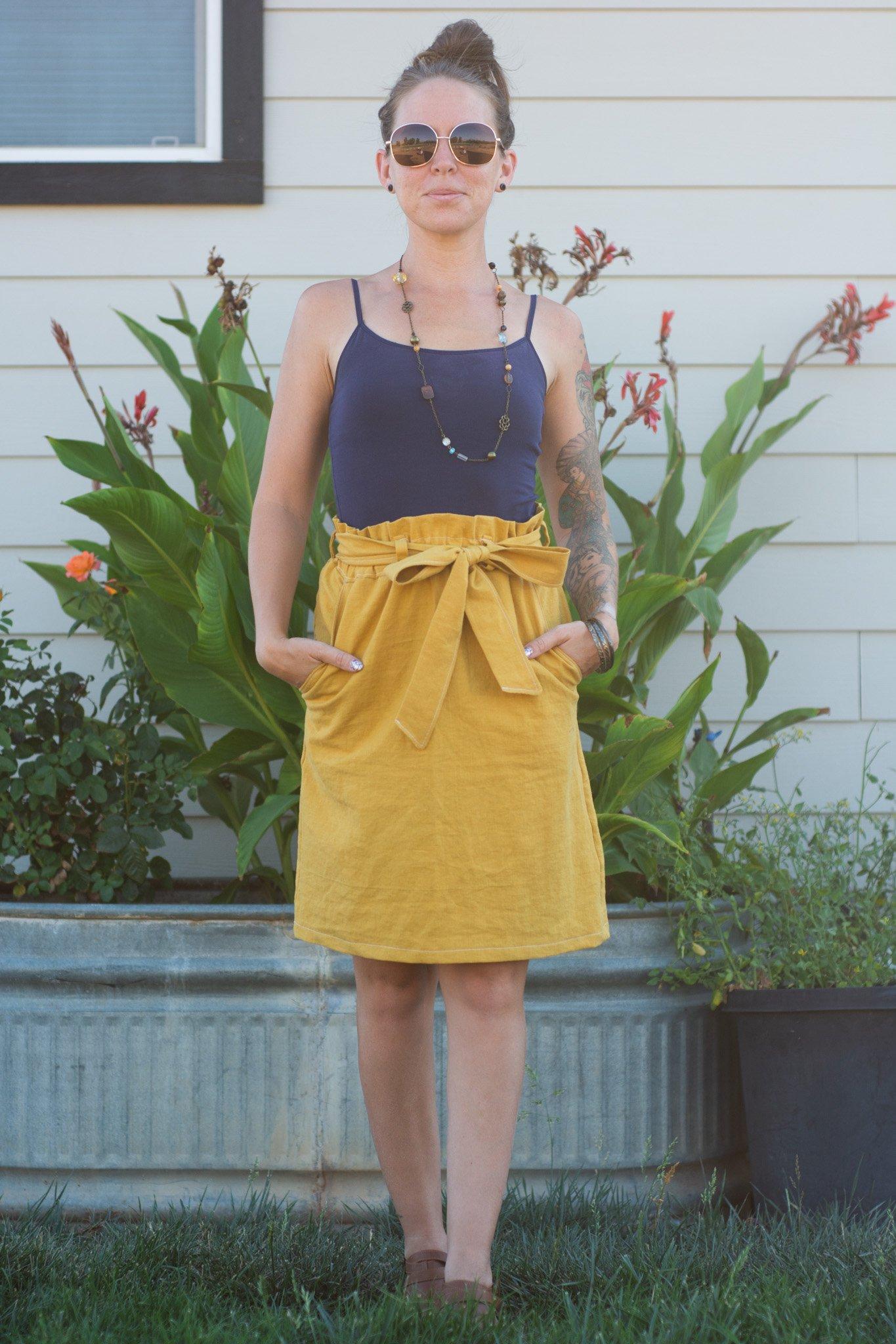 Paperbag Skirt from Ellie & Mac