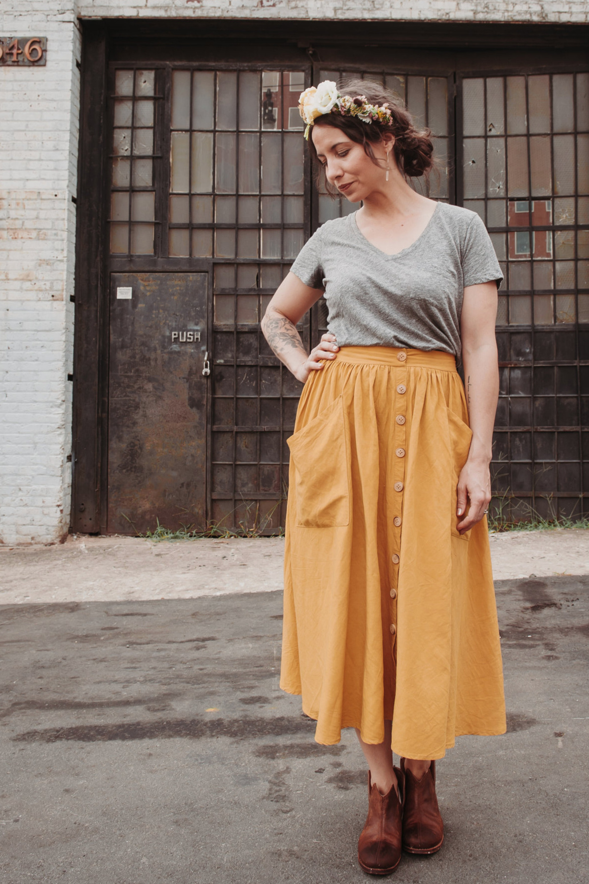 Estuary Skirt from Sew Liberated
