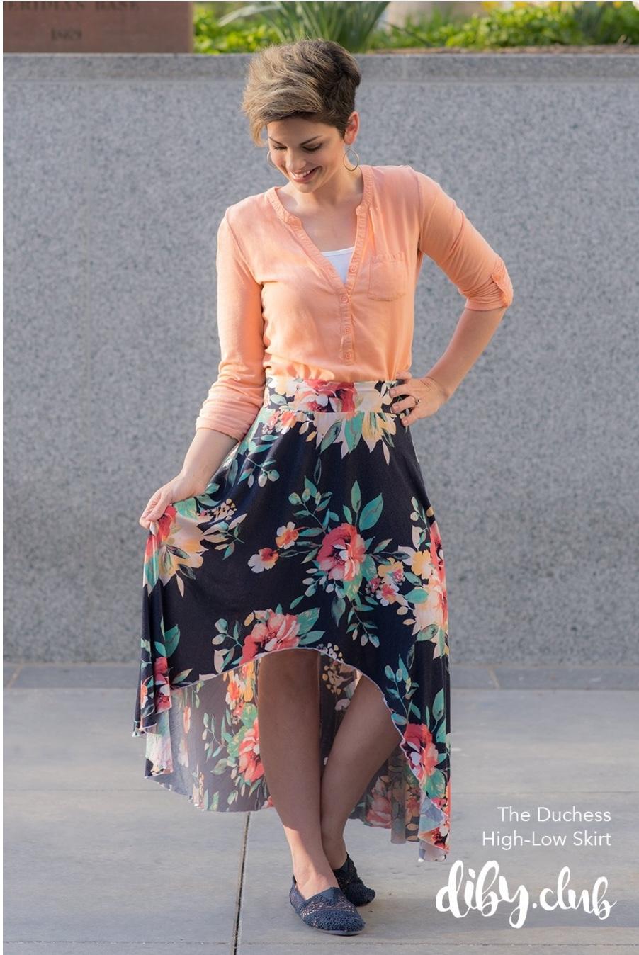 Duchess HL Skirt | DIBY Club