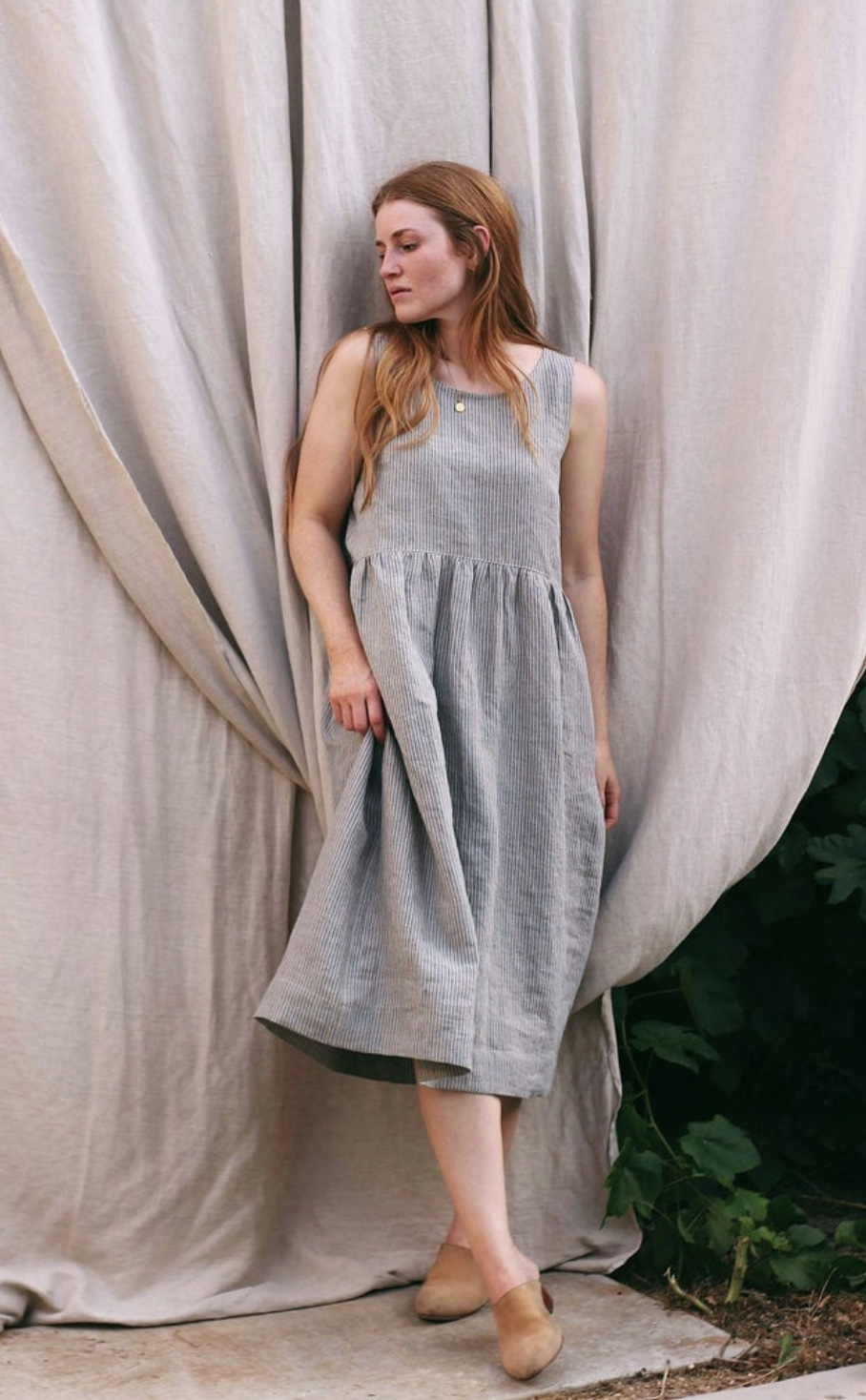 Demeter Dress (and top) sewing pattern from Anna Allen