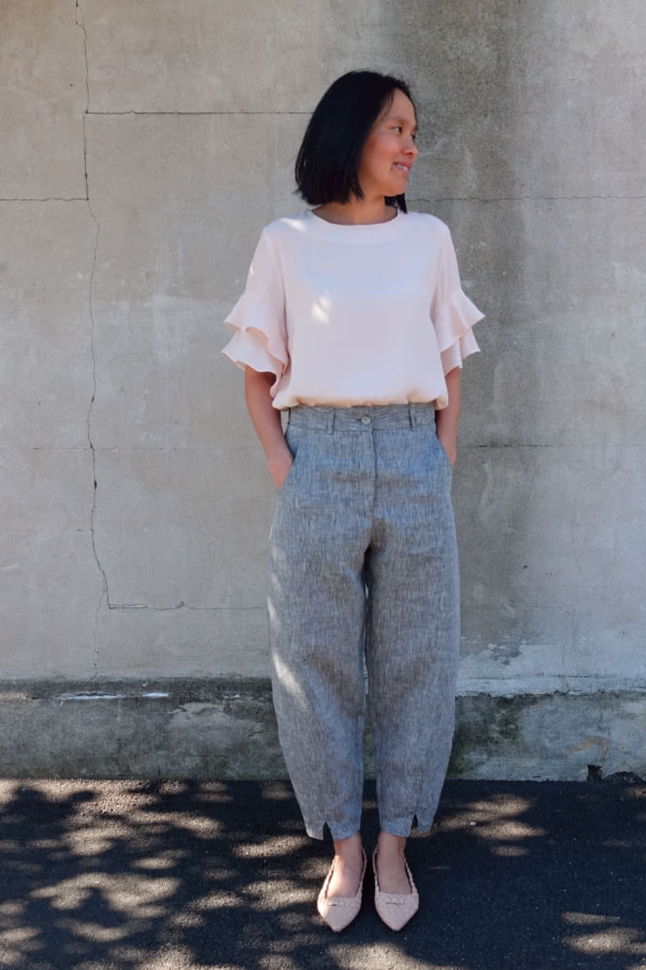 Kew woven pant/trouser from Style Arc
