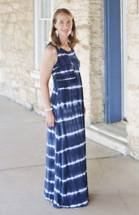 Madeleine Maxi Dress sewing pattern from Rebecca Page