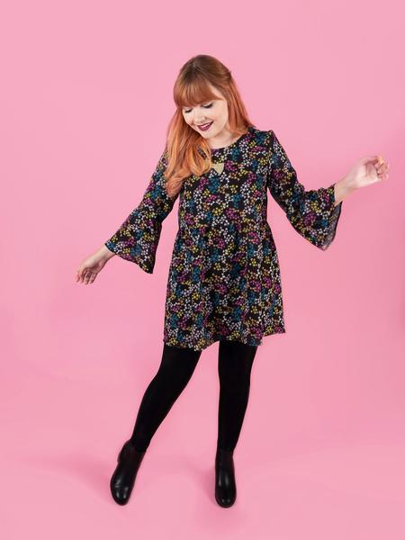 Indigo Smock Top and Dress from Tilly and the Buttons