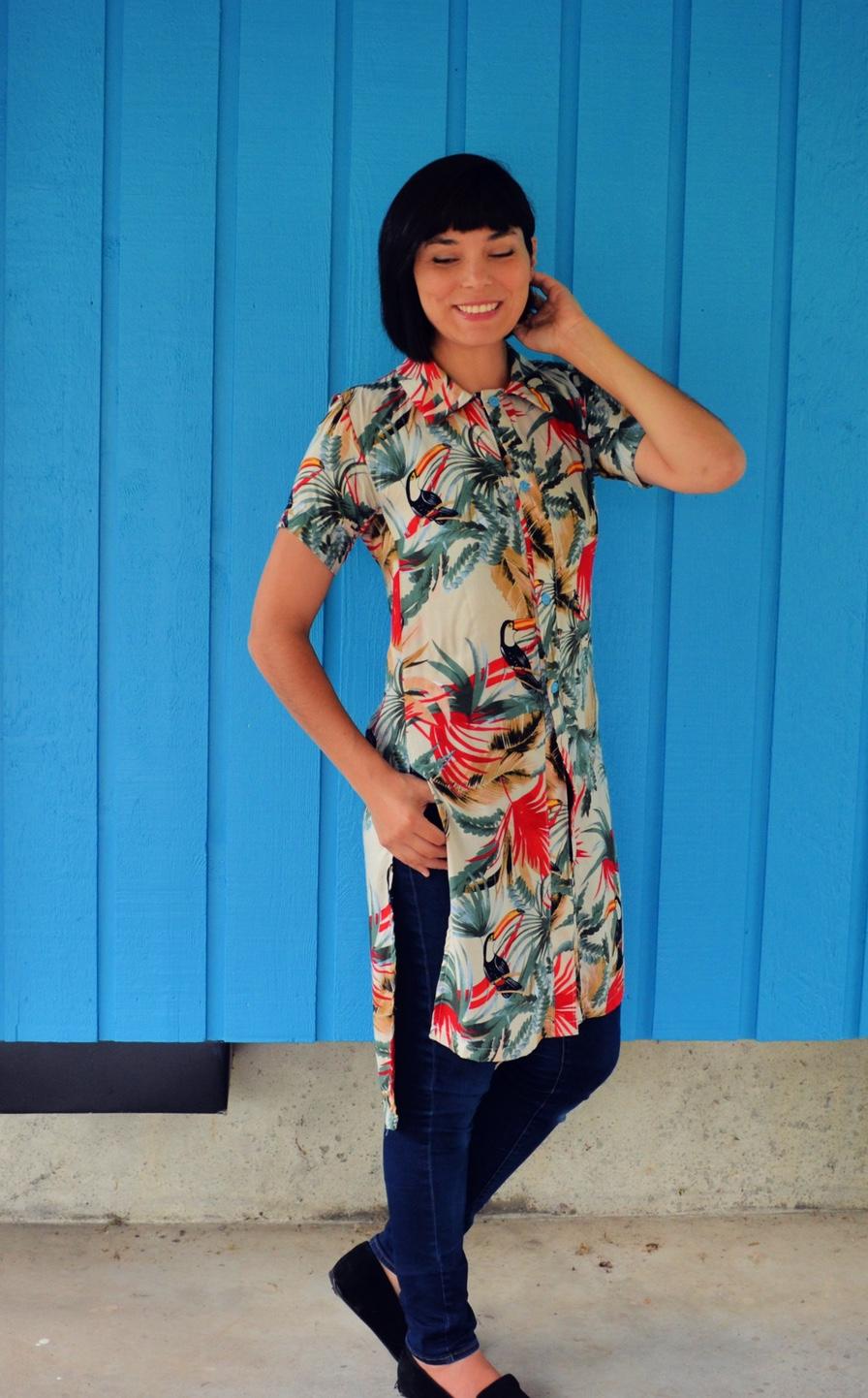 Magnolia Shirt/Tunic from DG Patterns