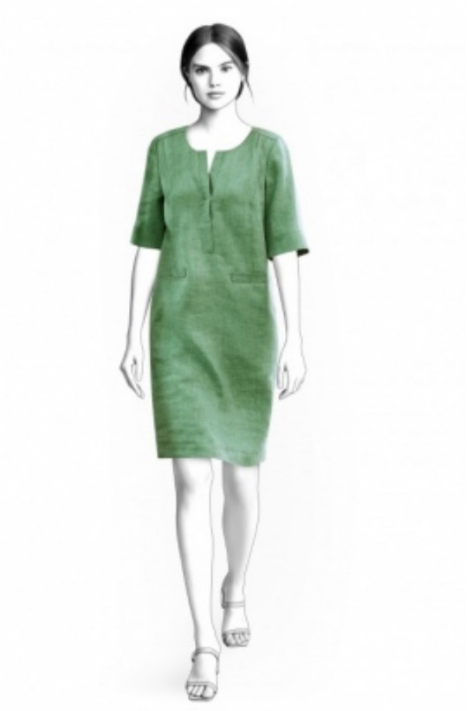 Shift Dress from Lekala Sewing Patterns