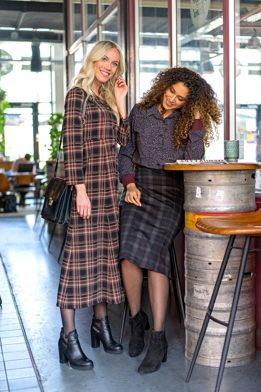 M1060 blouse, M1956 skirt and M163 shirt dress