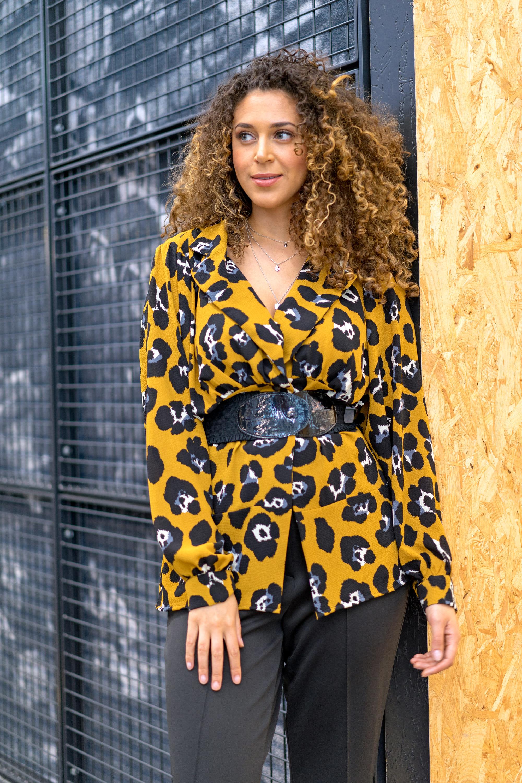 M1965 jacket-style blouse