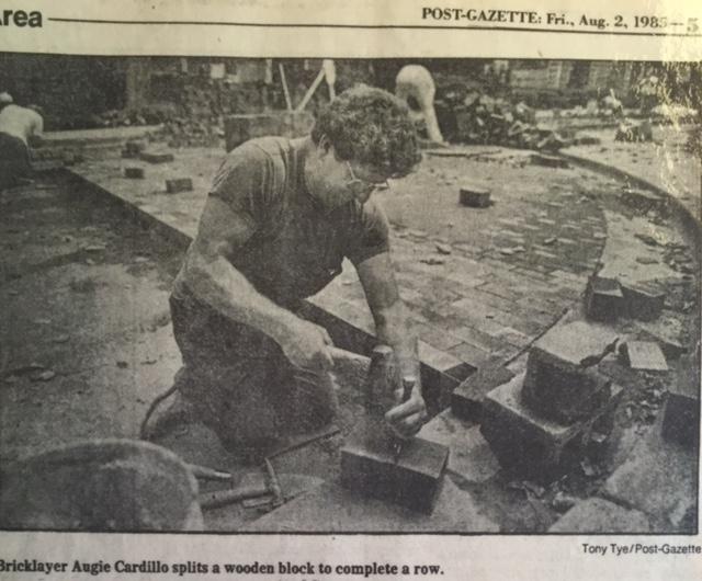 Restoration of Roslyn Place, 1985.