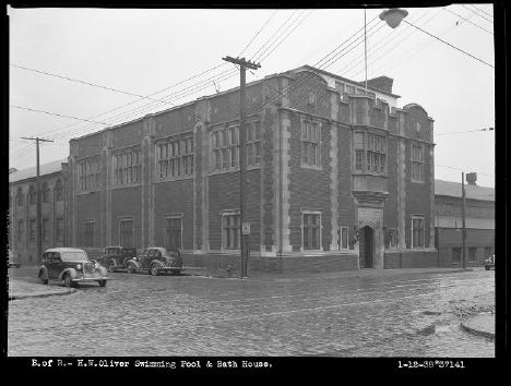 Oliver Bath House, Jan. 12th, 1938