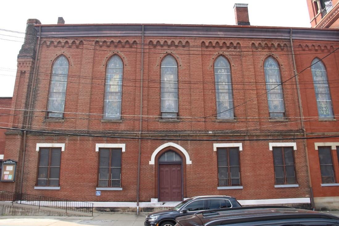 12 View west showing east (side) façade.jpg
